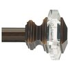 Umbra Acrylic Square Curtain Rod