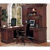 DMI Office Furniture Rue De Lyon L-Shape Executive Desk with Hutch