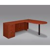 <strong>Fairplex Right / Left Executive Bullet L Desk</strong> by DMI Office Furniture