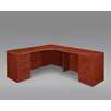 DMI Office Furniture Fairplex Executive Desk with Grommet Holes and Wire Management
