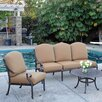 <strong>Kingston 6 Piece Deep Seating Group</strong> by Meadow Decor
