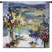 Fine Art Tapestries Classical Tuscany Floral Small by Allayn Stevens Tapestry