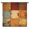 Fine Art Tapestries Abstract Poppy Nine Patch by Don Li-Leger Tapestry