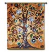 Fine Art Tapestries Abstract Tree of Life Series by Natasha Wescoat Tapestry