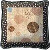 <strong>Mondo Dotz I Pillow</strong> by Fine Art Tapestries
