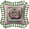 <strong>Fine Art Tapestries</strong> Medallion Pillow I