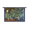 <strong>Fine Art Tapestries</strong> Classical Van Goghs Irises by Acorn Studios Tapestry