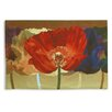 <strong>Abstract Poppy Tango by Mertens Tapestry</strong> by Fine Art Tapestries