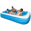"<strong>Intex</strong> Rectangle 22"" Deep Swim Center Family Pool"