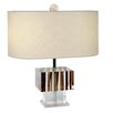 "Van Teal Boscage Kendo 18"" H Table Lamp with Oval Shade"