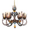 Van Teal Dance Of Fire DAna 6 Light Chandelier