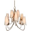 <strong>Amnesia Strategically 12 Light Chandelier</strong> by Van Teal