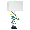 "Van Teal Forces Energy 32"" H Table Lamp with Square Shade"