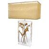 "Van Teal Earthwise Exotic Gardens 32"" H Table Lamp with Rectangle Shade"