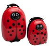 <strong>TrendyKid</strong> 2 Piece Lola LadyBug Children's Luggage Set