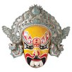 Design Toscano Peking Opera Mask Dian Wei Wall Décor