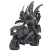 <strong>Design Toscano</strong> Motor Head Biker Dragon Statue