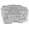 <strong>Design Toscano</strong> A Beautiful Soul...Memorial Garden Marker Stepping Stone