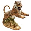 <strong>Jungle Cat Leaping Bengal Tiger Statue</strong> by Design Toscano
