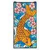 Design Toscano Asian Koi Stained Glass Window