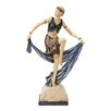 Design Toscano Flapper Follies Cabaret Girl Figurine