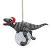 Design Toscano Blitzer the T-Rex Holiday Ornament (Set of 3)