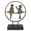 Design Toscano Sundown Childhood Days Statue