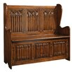 Design Toscano Kylemore Abbey Gothic Storage Entryway Bench