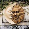 <strong>Celestial Harmony Sun and Moon Wall Decor</strong> by Design Toscano