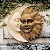 <strong>Celestial Harmony Sun and Moon Wall Decor</strong> by Design Toscano