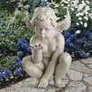 <strong>Life's Mysteries Cherub Statue</strong> by Design Toscano