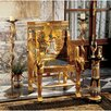 <strong>Design Toscano</strong> King Tutankhamen's Egyptian Throne Arm Chair
