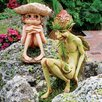 <strong>Design Toscano</strong> Svenska and Theodor The Garden Trolls Statues