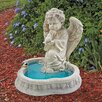 Design Toscano Angel of Peace Reflecting Pool Statue