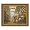 <strong>Design Toscano</strong> Project for the Disposition of the Grand Gallery, 1796 by Hubert Robert Framed Painting Print