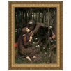 <strong>Design Toscano</strong> La Belle Dame Sans Merci, 1893 by John William Waterhouse Framed Painting Print