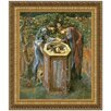 <strong>Design Toscano</strong> The Baleful Head, 1886 by Sir Edward Coley Burne-Jones Framed Painting Print
