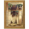 <strong>Design Toscano</strong> Egyptian Grand Portico, Philae by David Roberts Framed Painting Print