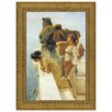 Design Toscano A Coign of Vantage, 1895 by Sir Lawrence Alma-Tadema Framed Painting Print
