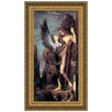 Design Toscano Oedipus and the Sphinx, 1864 by Gustave Moreau Framed Painting Print