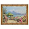 <strong>Design Toscano</strong> Lake Como from the Villa by Ernest Arthur Rowe Framed Painting Print