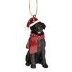 <strong>Lab Holiday Dog Ornament Sculpture</strong> by Design Toscano