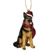 <strong>German Shepherd Holiday Dog Ornament Sculpture</strong> by Design Toscano