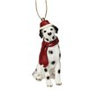 Design Toscano Dalmatian Holiday Dog Ornament Sculpture