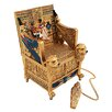 Design Toscano King Tut's Golden Throne Treasure Box