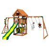 <strong>Backyard Discovery</strong> Flagstone Peak All Cedar Swing Set