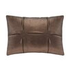 <strong>Madison Park</strong> Metallic Faux Leather Oblong Pillow