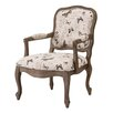 Madison Park Madison Park Monroe Camel Back Wood Arm Chair