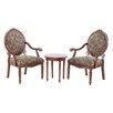 Madison Park Brentwood 3 Piece Arm Chair Set