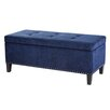 Madison Park Shandra II Tufted Top Bench Storage Ottoman